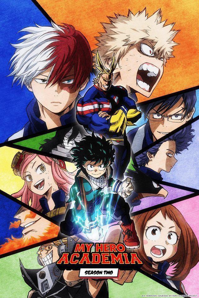 Boku no Hero - My Hero Academia - (2° Temporada) Todas os Episódios