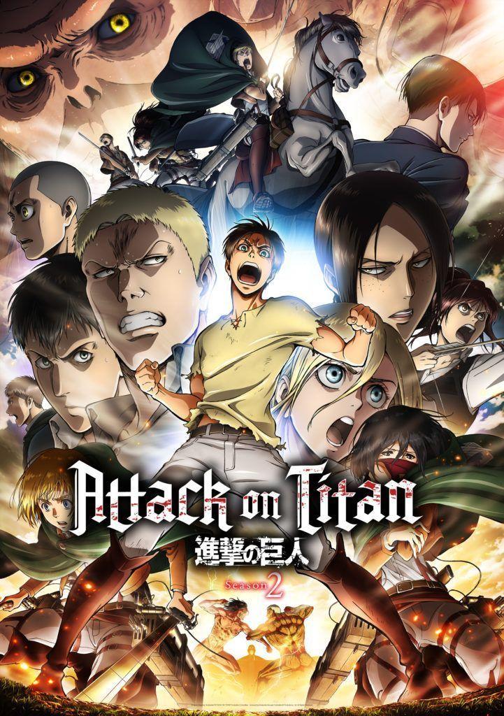 Shingeki No Kyojin – Attack On Titan (2° Temporada) Completo