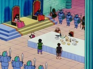 Dragon Ball - Episodio 81 - Goku chega à terra do demônio