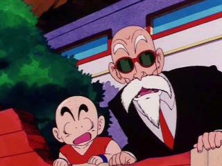 Dragon Ball - Episodio 98 - O segredo da técnica Taiyoken contra o poder de combate