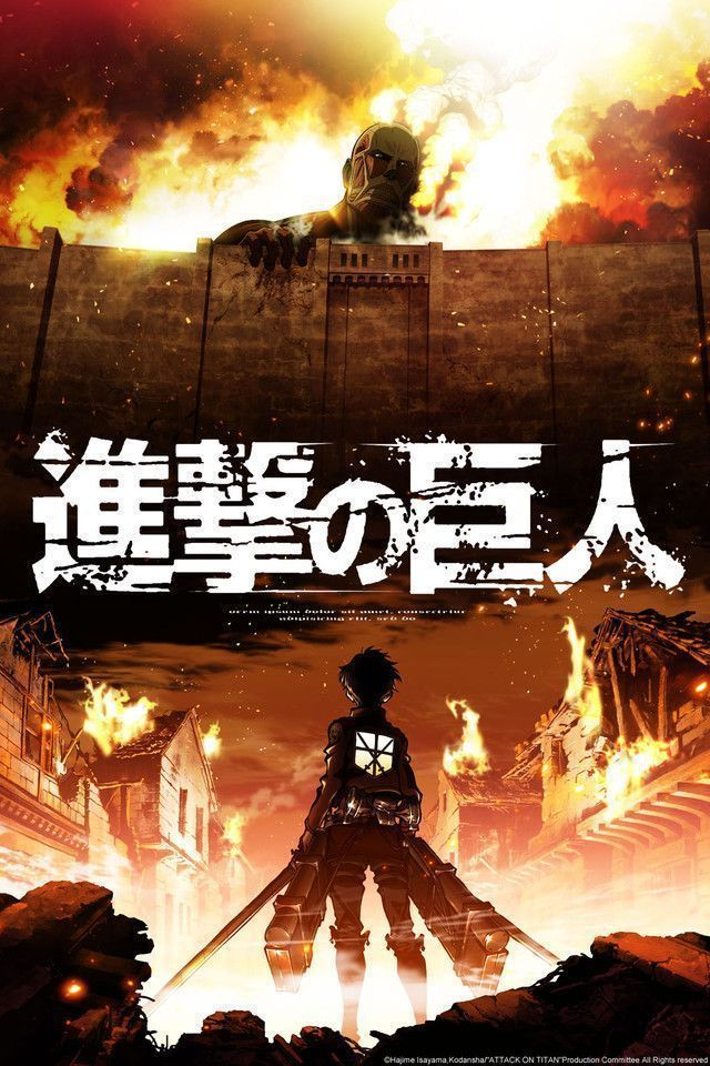 Shingeki No Kyojin – Attack On Titan (1ª Temporada) Completo